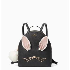 NWT Kate Spade Bunny Mini Backpack